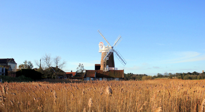 Cley Windmill from a distance