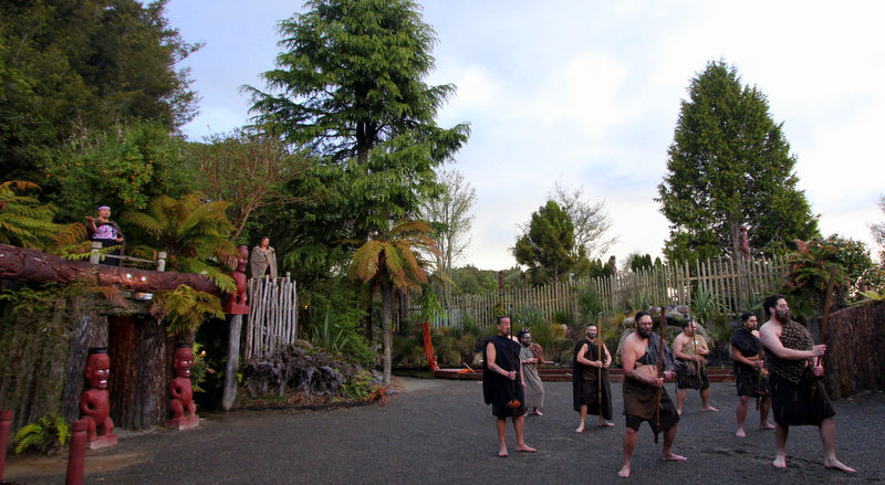 Tamaki Maori Village office
